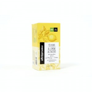 tè verde al limone e zenzero bio