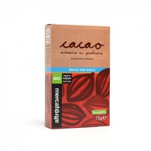 cacao amaro in polvere biologico altromercato