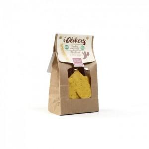 Crackers I cèckers con curcuma - bio